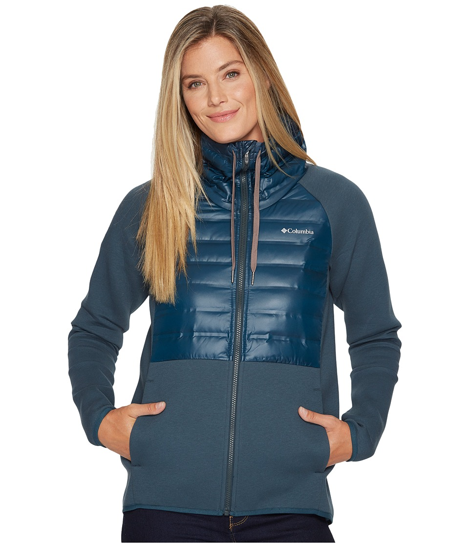 Columbia Luna Vista Hybrid Jacket (Night Shadow) Women