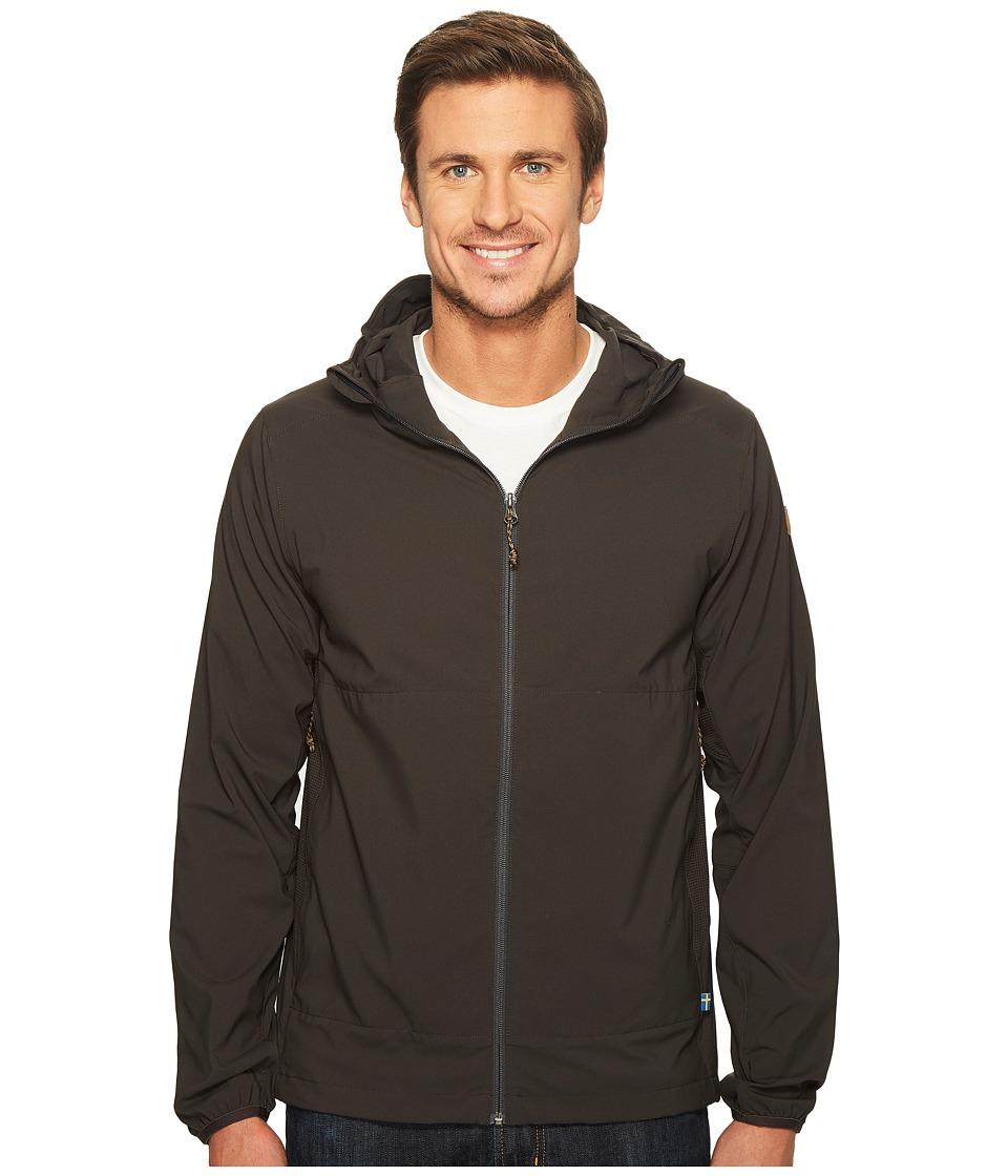 Fjallraven Abisko Hybrid Breeze Jacket (Dark Grey) Men