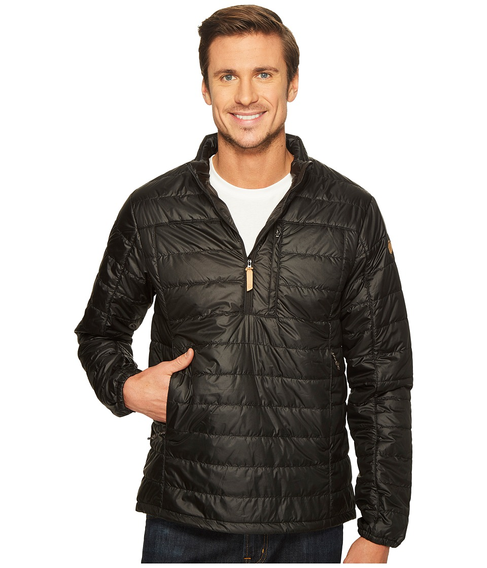 Fjallraven - Abisko Padded Pullover (Black) Mens Coat