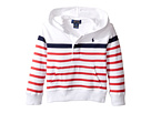 Polo Ralph Lauren Kids - 20/1 Yarn-Dyed Jersey Pullover Hoodie (Toddler)