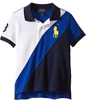 Polo Ralph Lauren Kids - Basic Mesh Banner Polo (Toddler)