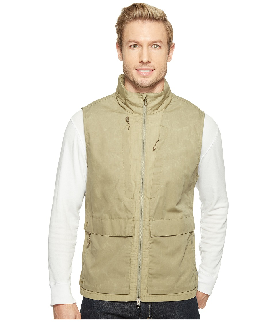 Fjallraven - Travellers Vest (Savanna) Mens Vest