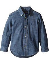 Polo Ralph Lauren Kids - Chambray Blake Shirt (Toddler)