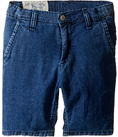 Polo Ralph Lauren Kids - Denim Rolled Shorts (Little Kids)