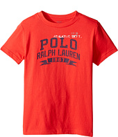 Polo Ralph Lauren Kids - 30/1 Jersey Graphic Tee (Little Kids/Big Kids)