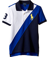 Polo Ralph Lauren Kids - Basic Mesh Banner Polo (Little Kids)