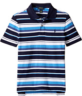 Polo Ralph Lauren Kids - Yarn-Dyed Basic Mesh Short Sleeve Knit Collar Shirt (Little Kids/Big Kids)