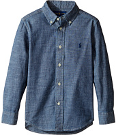 Polo Ralph Lauren Kids - Chambray Blake Shirt (Little Kids/Big Kids)