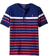 Polo Ralph Lauren Kids - Gauze Jersey Short Sleeve Henley (Big Kids)