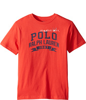 Polo Ralph Lauren Kids - 30/1 Jersey Graphic Tee (Big Kids)