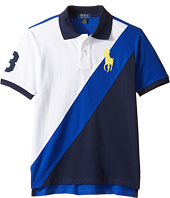 Polo Ralph Lauren Kids - Basic Mesh Banner Polo (Big Kids)