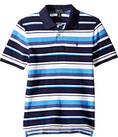 Polo Ralph Lauren Kids - Yarn-Dyed Basic Mesh Short Sleeve Knit Collar Shirt (Big Kids)