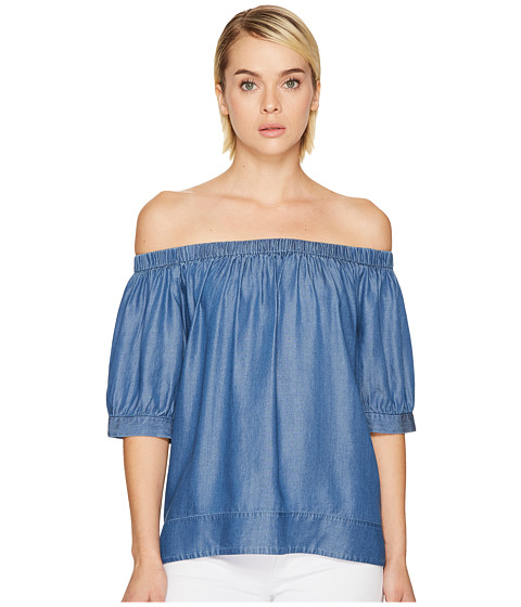 Kate Spade New York Chambray Off the Shoulder Top