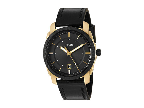 Fossil Machine Leather - FS5263 - Black