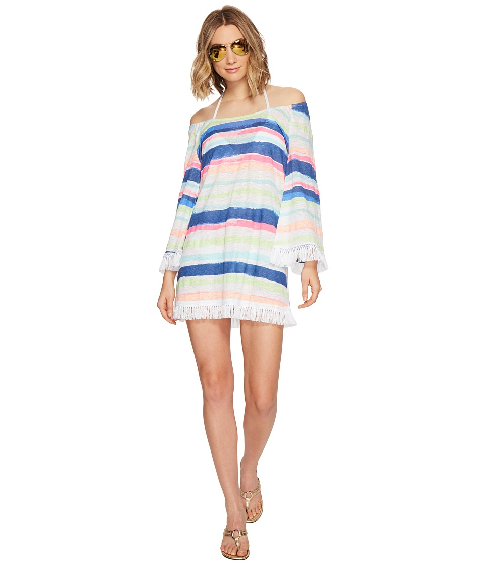 Lilly Pulitzer Getaway Cover-Up (Multi Cats Meow Stripe) Women
