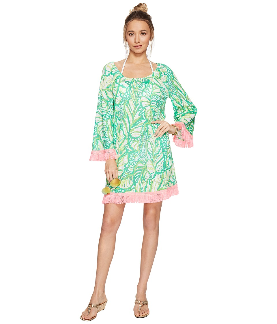 Lilly Pulitzer Getaway Cover-Up (Toucan Green Coco Loca) Women