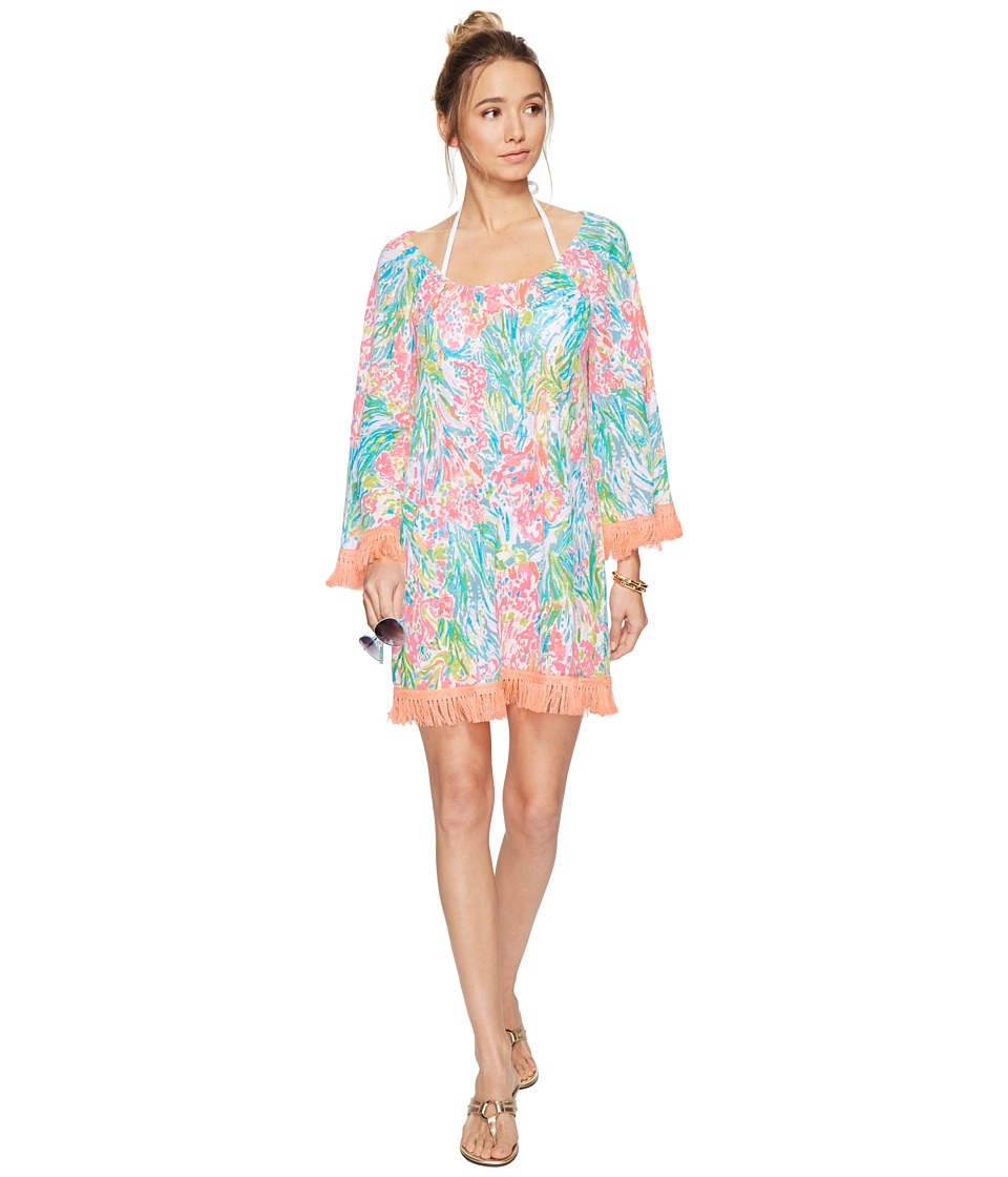 Lilly Pulitzer Getaway Cover-Up (Multi Fan Sea Pants) Women