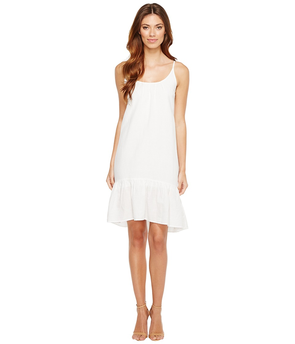 Lilla P Peplum Dress (White) Women