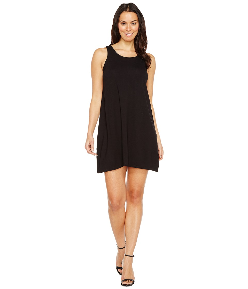 Lilla P Tie Back Dress (Black) Women