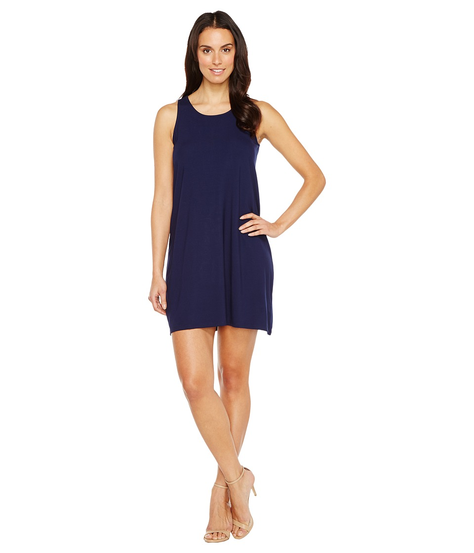 Lilla P Tie Back Dress (Navy) Women