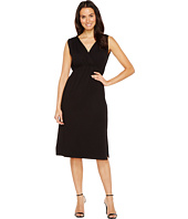 Lilla P - Shirred Shoulder Midi Dress