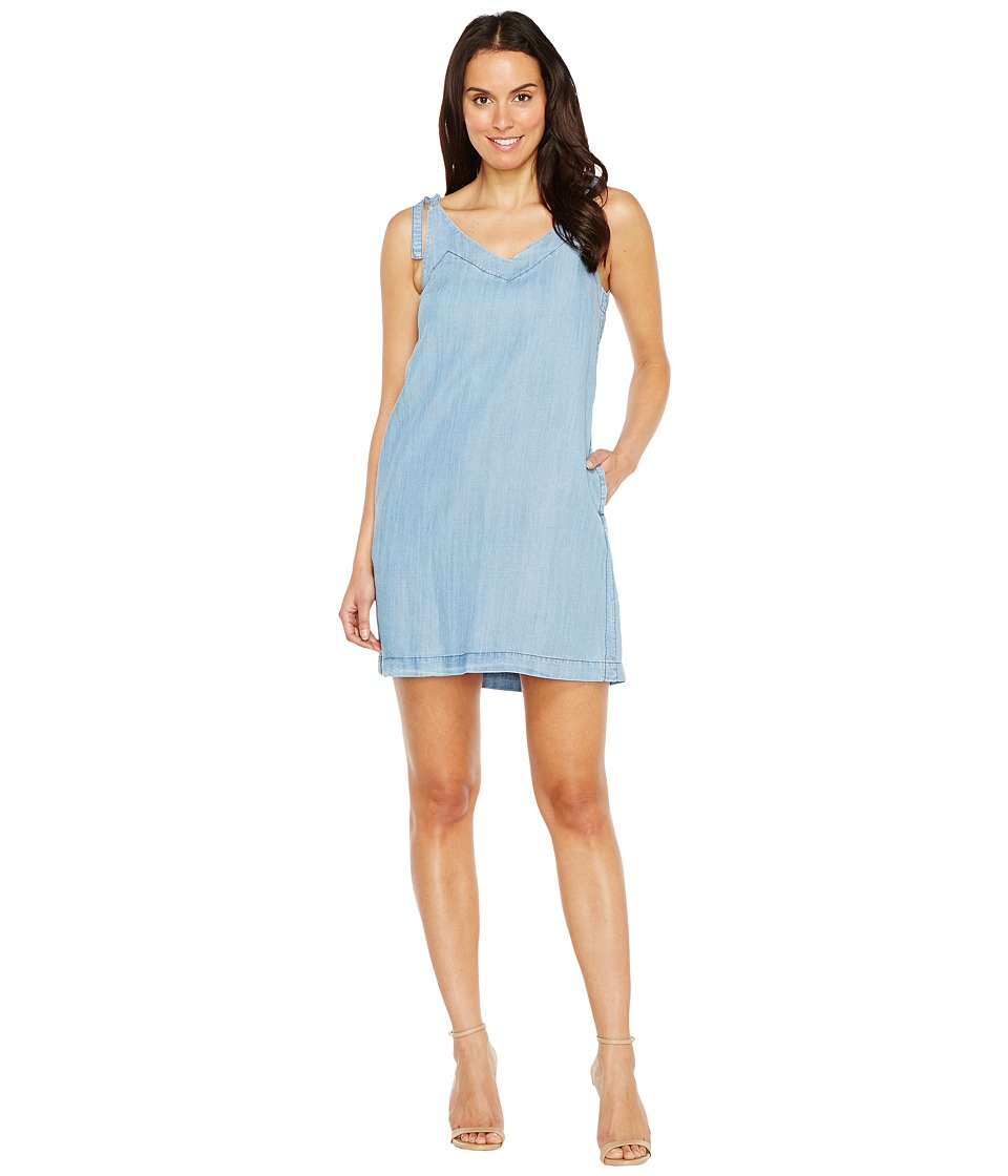 Lilla P Tie Strap Dress (Denim Blue) Women