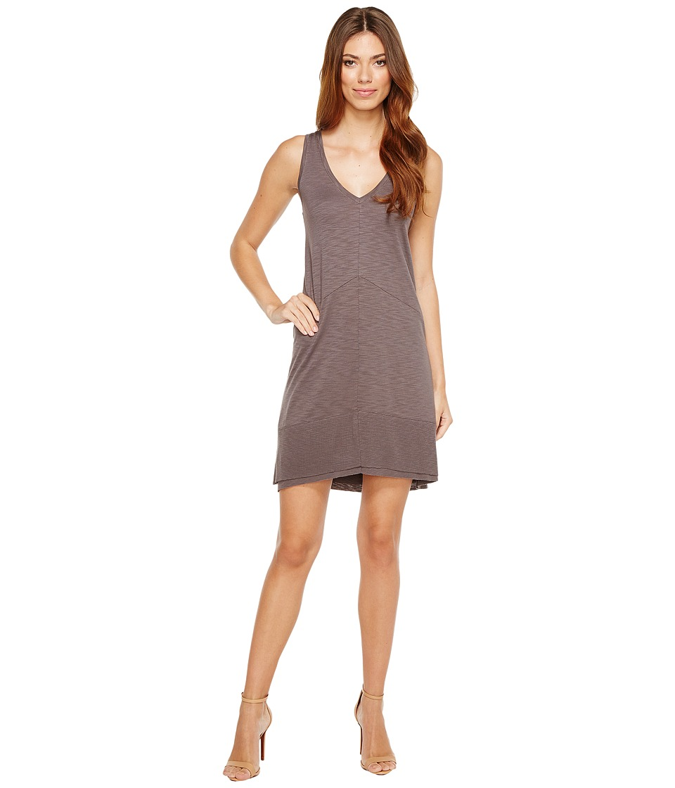 Lilla P Ribbed Bottom Dress (Earth) Women
