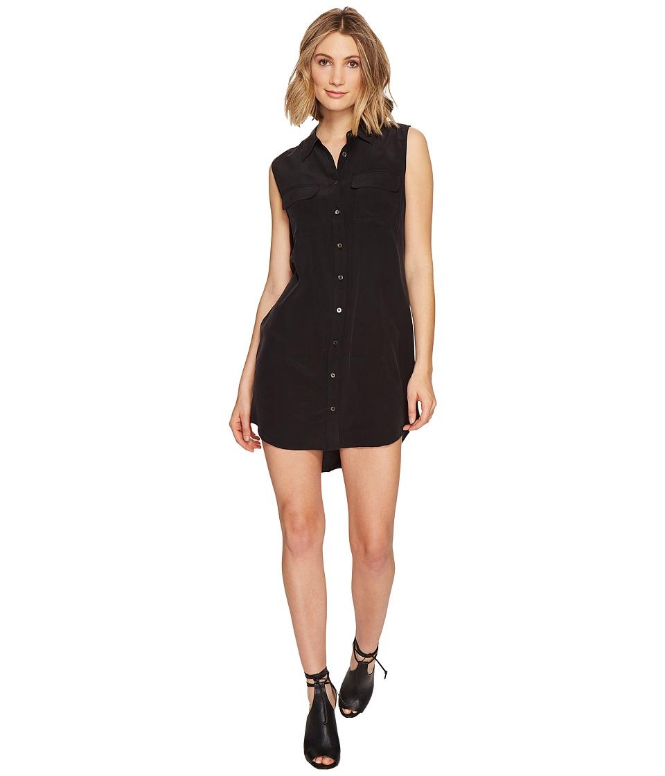 EQUIPMENT - Sleeveless Slim Signature Dress