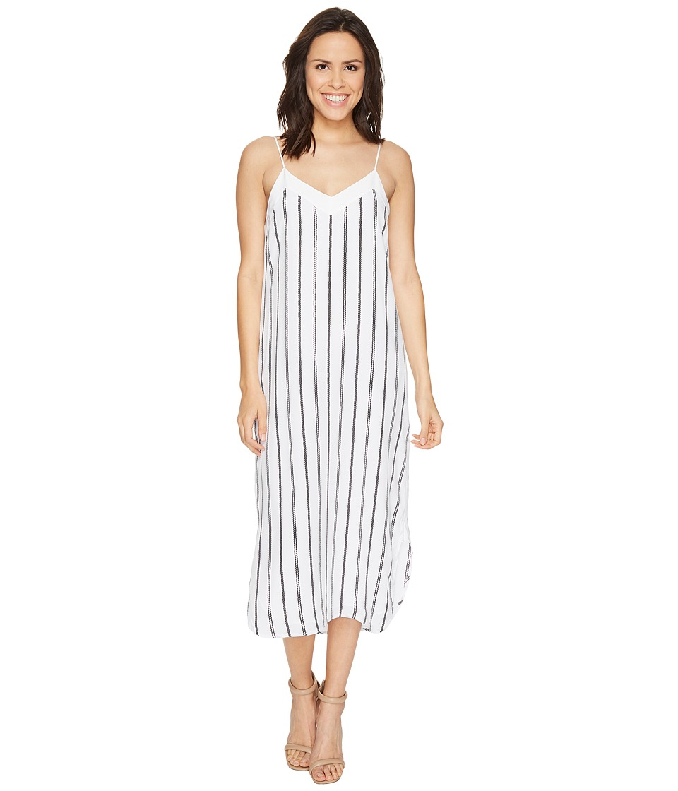 EQUIPMENT Dian Dress Q2819-E895 (Bright White/Eclipse) Women