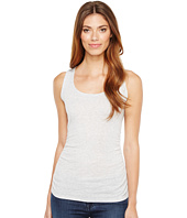 Lilla P - Shirred Scoop Tank Top