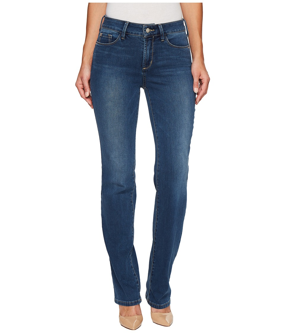 NYDJ Marilyn Straight in Future Fit Denim in Le Maire (Le Maire) Women