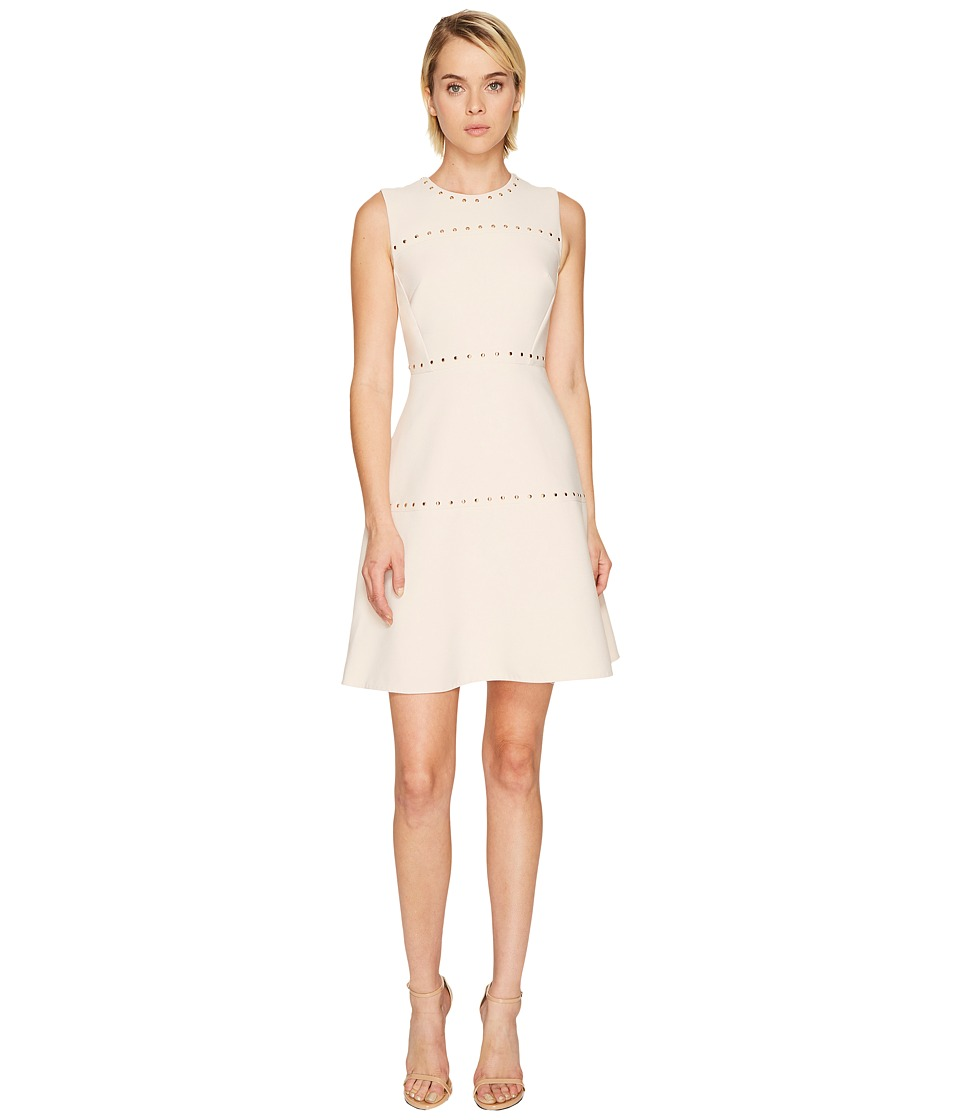 Kate Spade New York Studded Crepe Dress (Rose Dew) Women