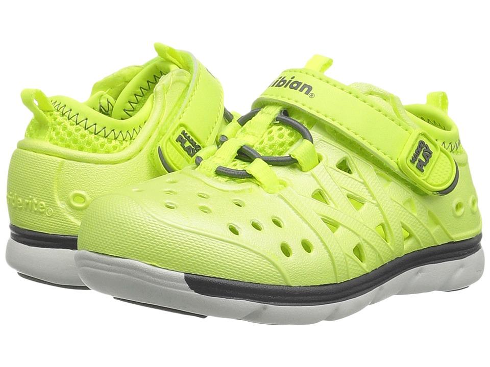 Stride Rite Made 2 Play Phibian (Toddler/Little Kid/Big Kid) (Citron Metallic) Kids Shoes