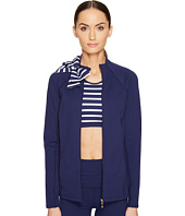 Kate Spade New York x Beyond Yoga - Sailing Stripe Neck Bow Jacket