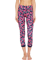 Kate Spade New York x Beyond Yoga - Lux Print Lunar Cut Out Capris