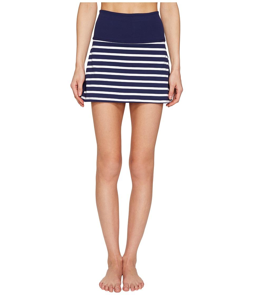 Kate Spade New York x Beyond Yoga - Sailing Stripe High Waist Skort