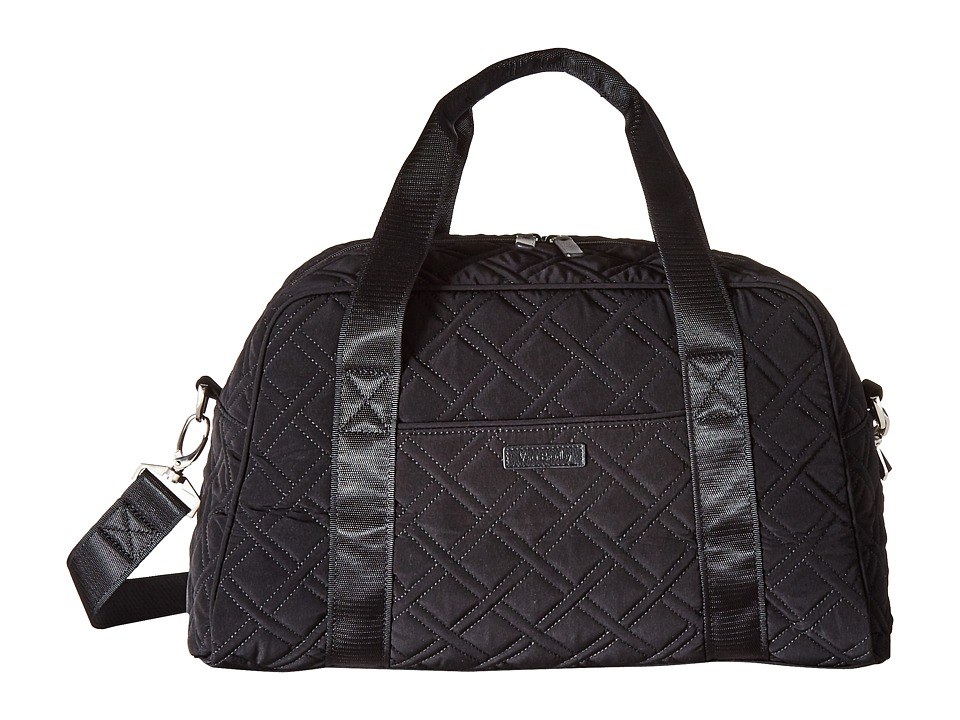 Vera Bradley Luggage - Compact Sport Bag (Classic Black) ...