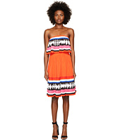 Kate Spade New York - Geo Border Pleated Dress