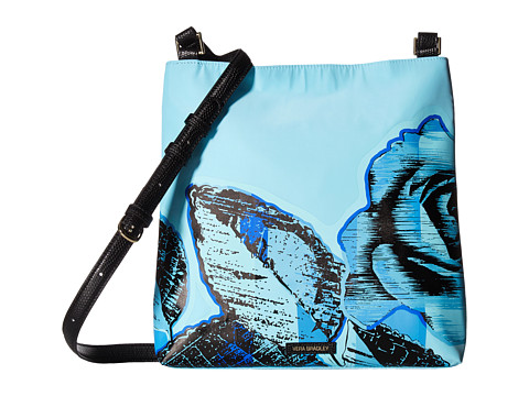 Vera Bradley Molly Crossbody - Blue Havana Rose