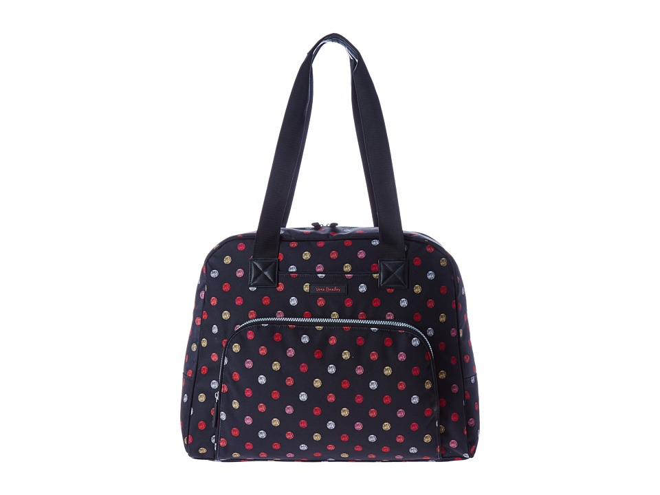 Vera Bradley Luggage Go Anywhere Carry-On (Havana Dots) Carry on Luggage
