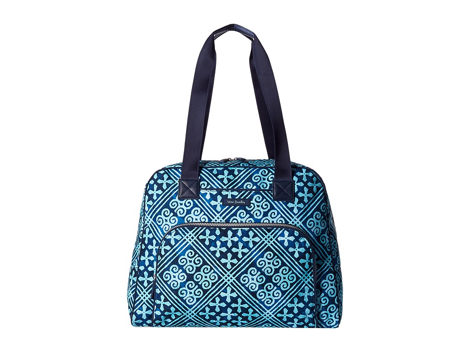 Vera Bradley Luggage Go Anywhere Carry-On (Cuban Tiles) Carry on Luggage