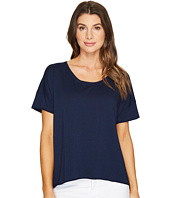 Mod-o-doc - Cotton Modal Spandex French Terry Short Sleeve Boxy Tee