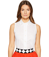 Kate Spade New York - Lace Inset Sleeveless Top