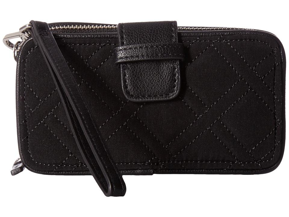 Vera Bradley RFID Smartphone Wristlet (Classic Black) Wri...