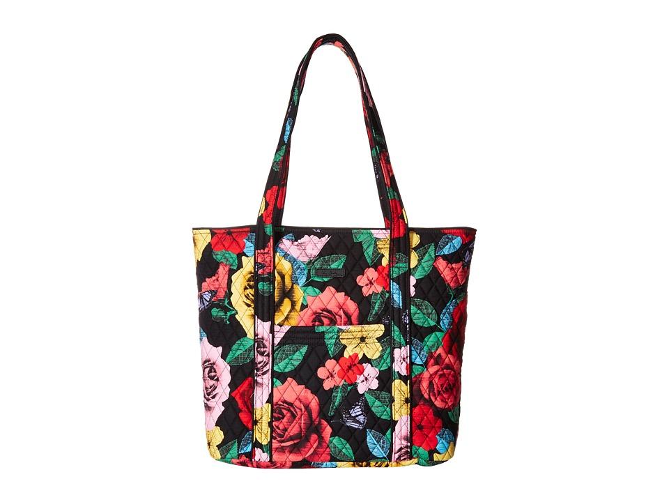 Vera Bradley Vera (Havana Rose) Tote Handbags