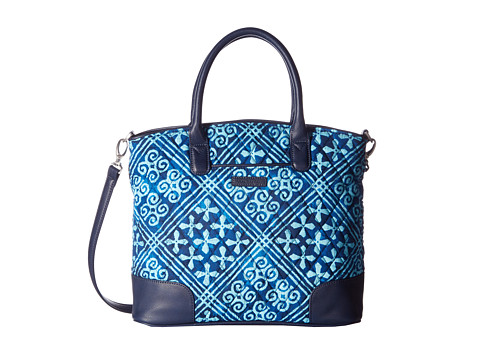 Vera Bradley Day Off Satchel - Cuban Tiles