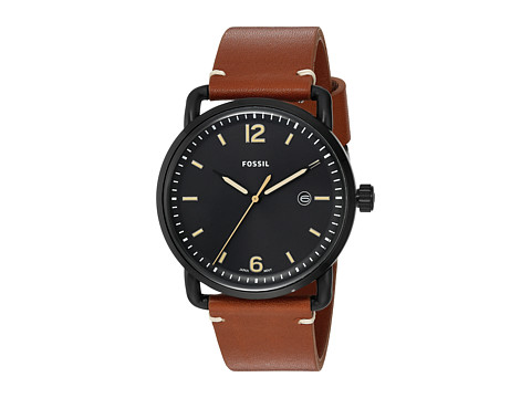 Fossil The Commuter Leather - FS5276 - Black