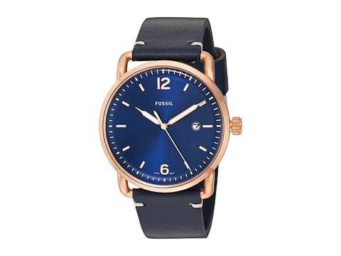 Fossil The Commuter Leather - FS5274 - Blue