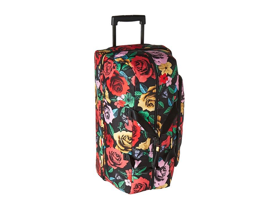Vera Bradley Luggage Lighten Up Large Wheeled Duffel (Havana Rose) Duffel Bags