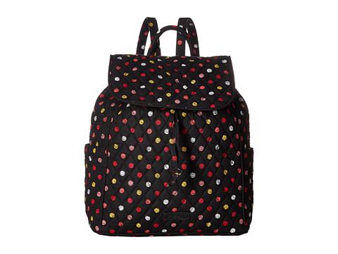 Vera Bradley Drawstring Backpack - Havana Dots